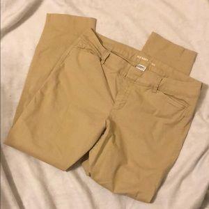 Old navy pixie khaki pants